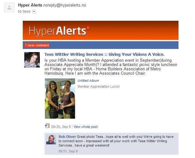 hyper alert notification