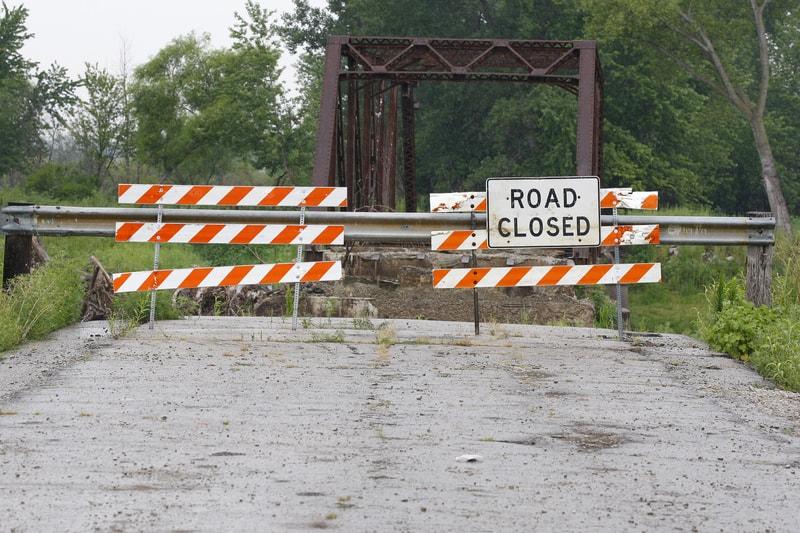 website-roadblock