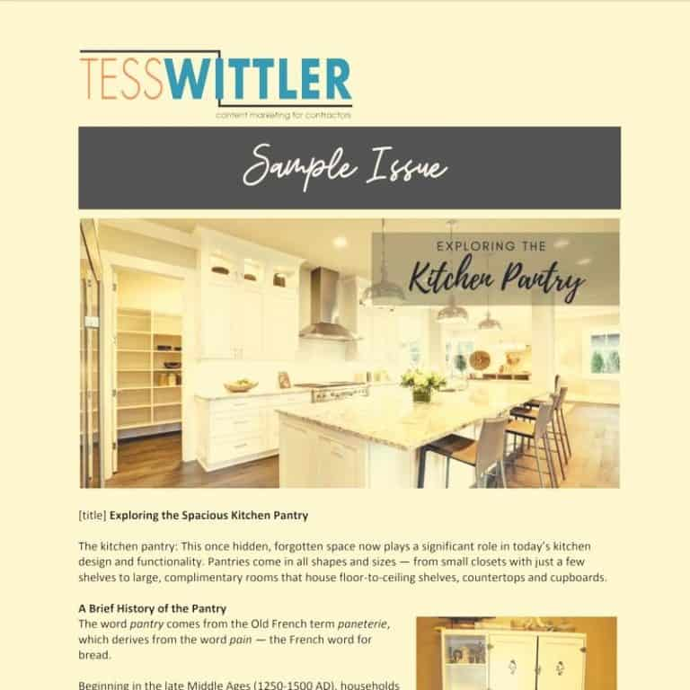 Remodeling-Marketing-Newsletter