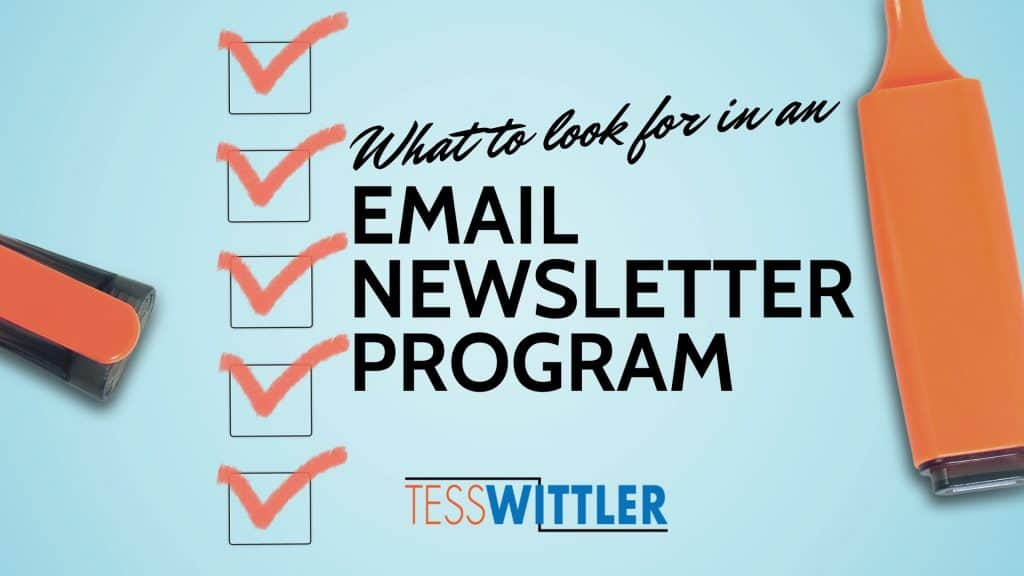 email-newsletter-program-qualities