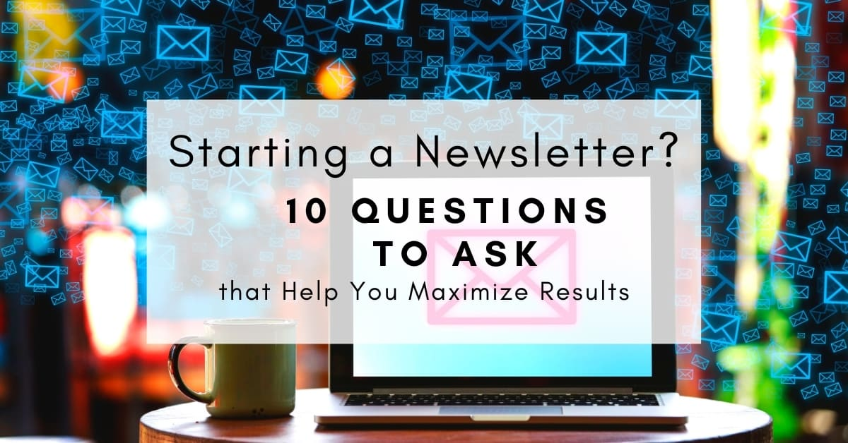 starting-a-newsletter-questions