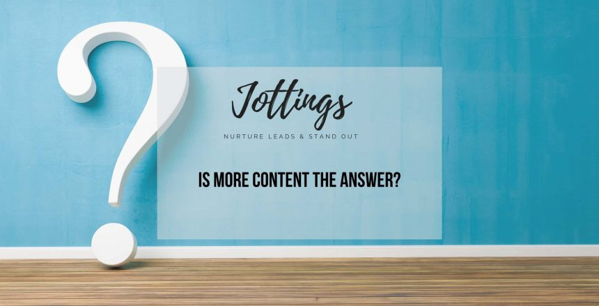 is-more-content-the-answer
