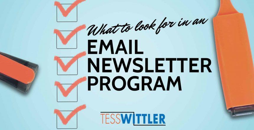 email-newsletter-program-qualities